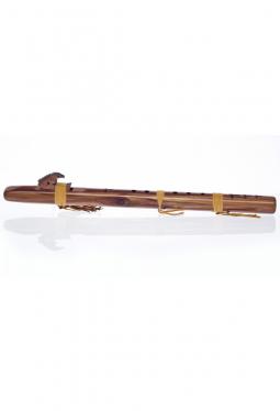 D Mol tief - Zedernholz - Indianische Flöte