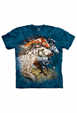 Find 13 Horses - The Mountain - T Shirt